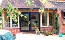 Extension doors